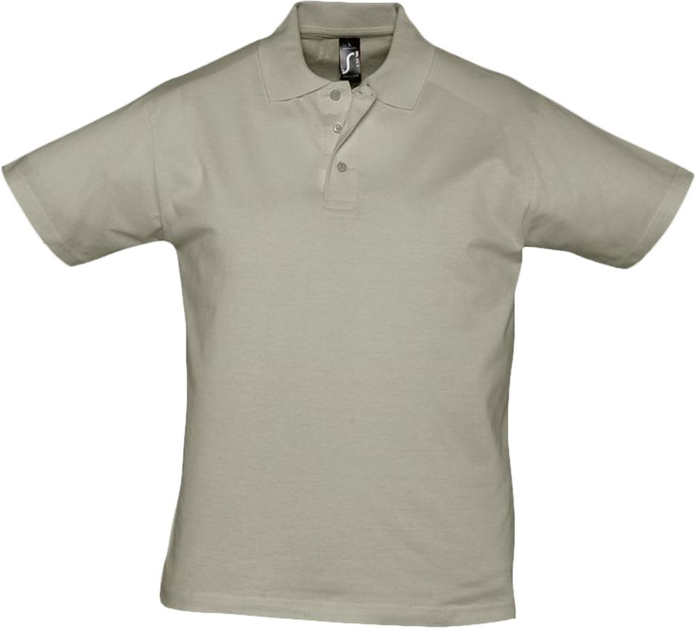Рубашка поло мужская Prescott men 170 хаки, размер L фото