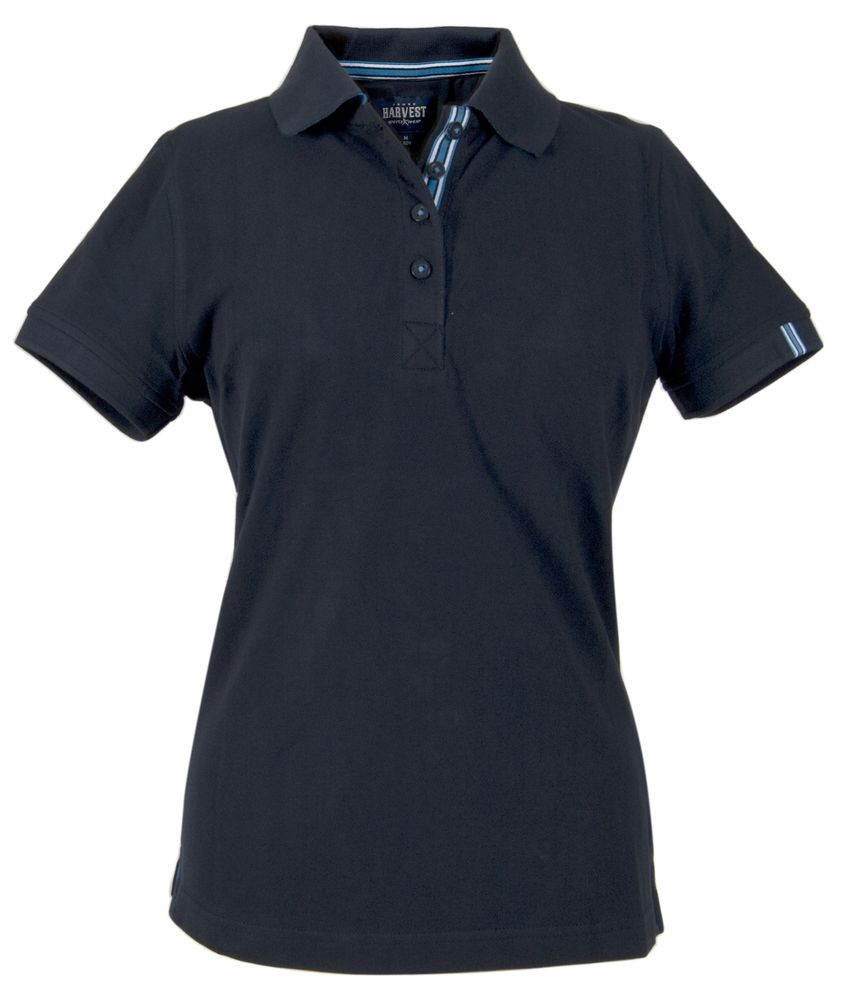 Рубашка поло женская AVON LADIES, темно-синяя, размер XXL фото