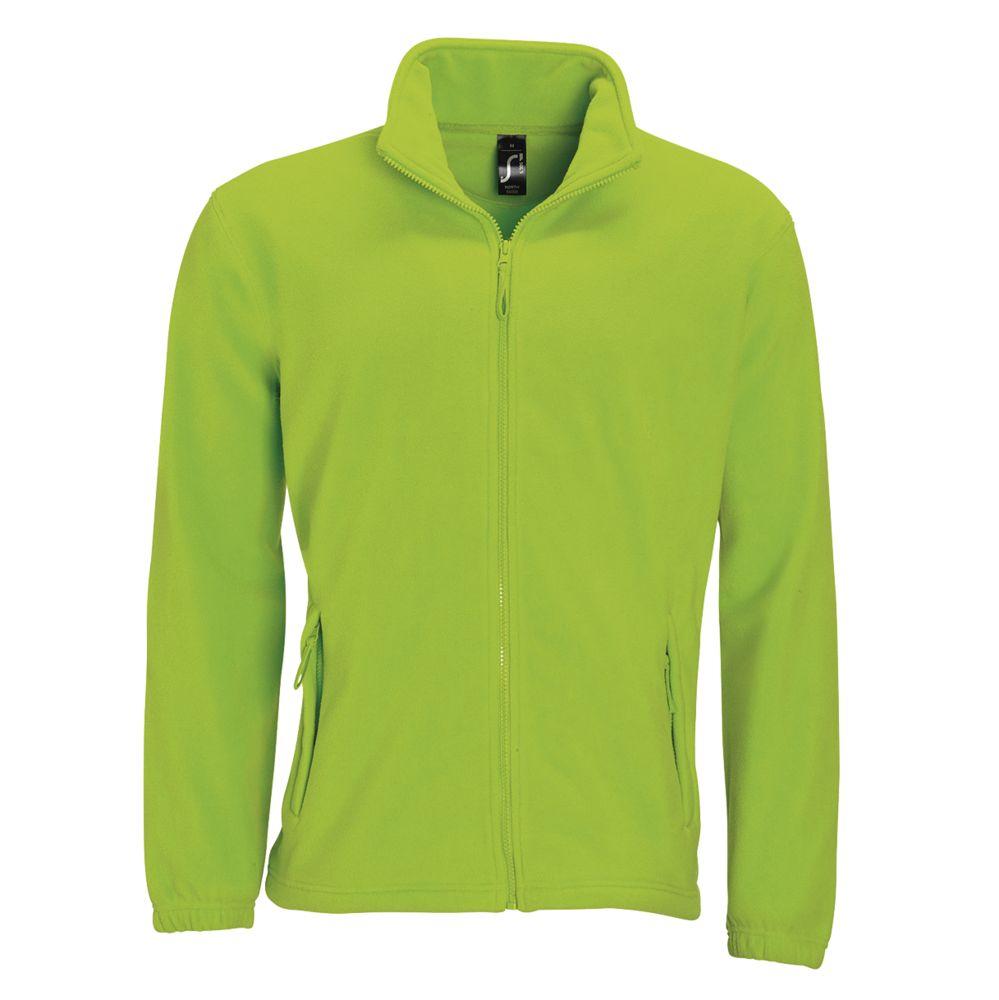 Куртка мужская North зеленый лайм, размер XL фото