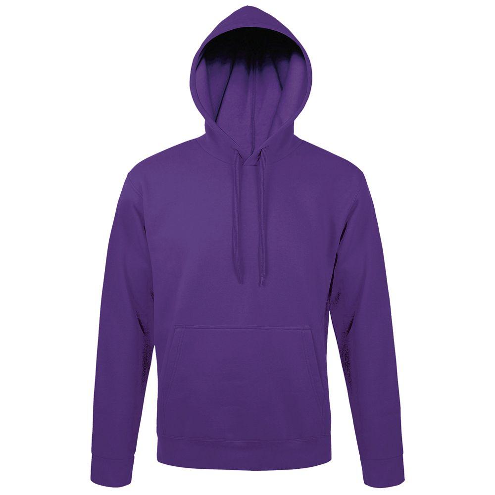 Толстовка с капюшоном SNAKE II темно-фиолетовая, размер XL толстовка с капюшоном snake ii темно фиолетовая размер xs