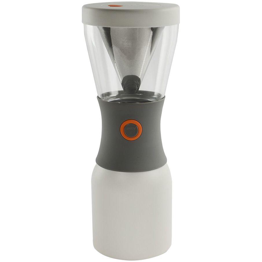 Портативная кофеварка Cold Brew, белая кофеварка портативная 1 л серебристая asobu cold brew kb900 silver black
