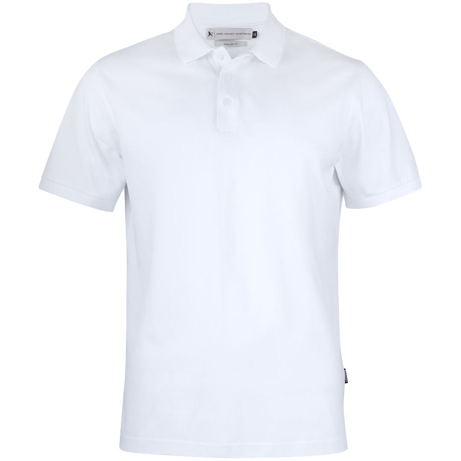 Рубашка поло мужская Sunset белая, размер 4XL
