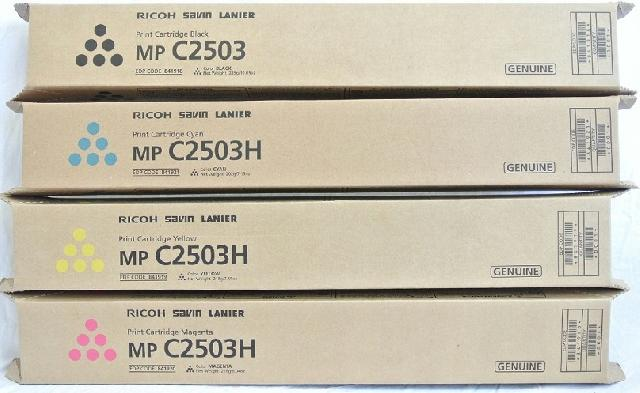 Тонер-картридж Ricoh MPC2503H малиновый (841927) тонер картридж ricoh mpc5502e малиновый 842022