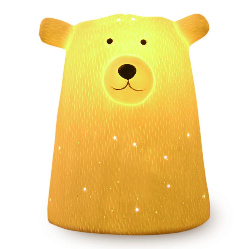 Фото - Светильник керамический «Мишка» брелок для сумочки мишка