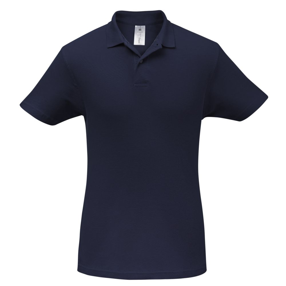 Рубашка поло ID.001 темно-синяя, размер XL рубашка поло женская safran timeless темно синяя размер xl