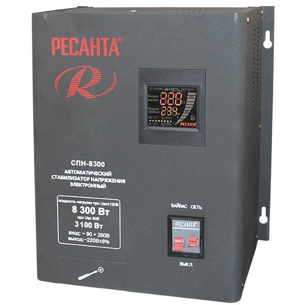 Купить Стабилизатор напряжения, СПН-8300, Ресанта