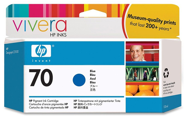 HP Vivera 70 Blue 130 мл (C9458A) hot sales 80 printhead for hp80 print head hp for designjet 1000 1000plus 1050 1055 printer