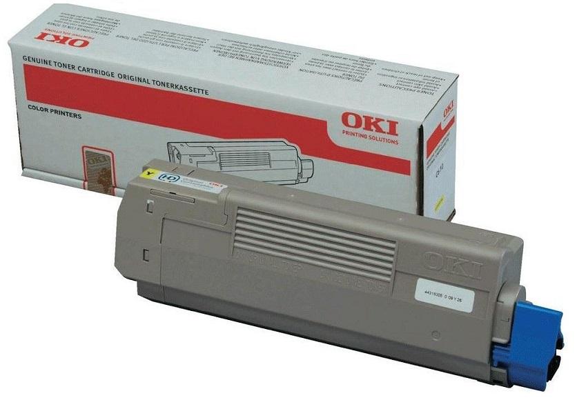 Фото - Тонер-картридж OKI TONER-Y-C532/MC573/MC563-6K-NEU (46490629) тонер картридж oki toner y c822 7 3k neu 44844625 44844613