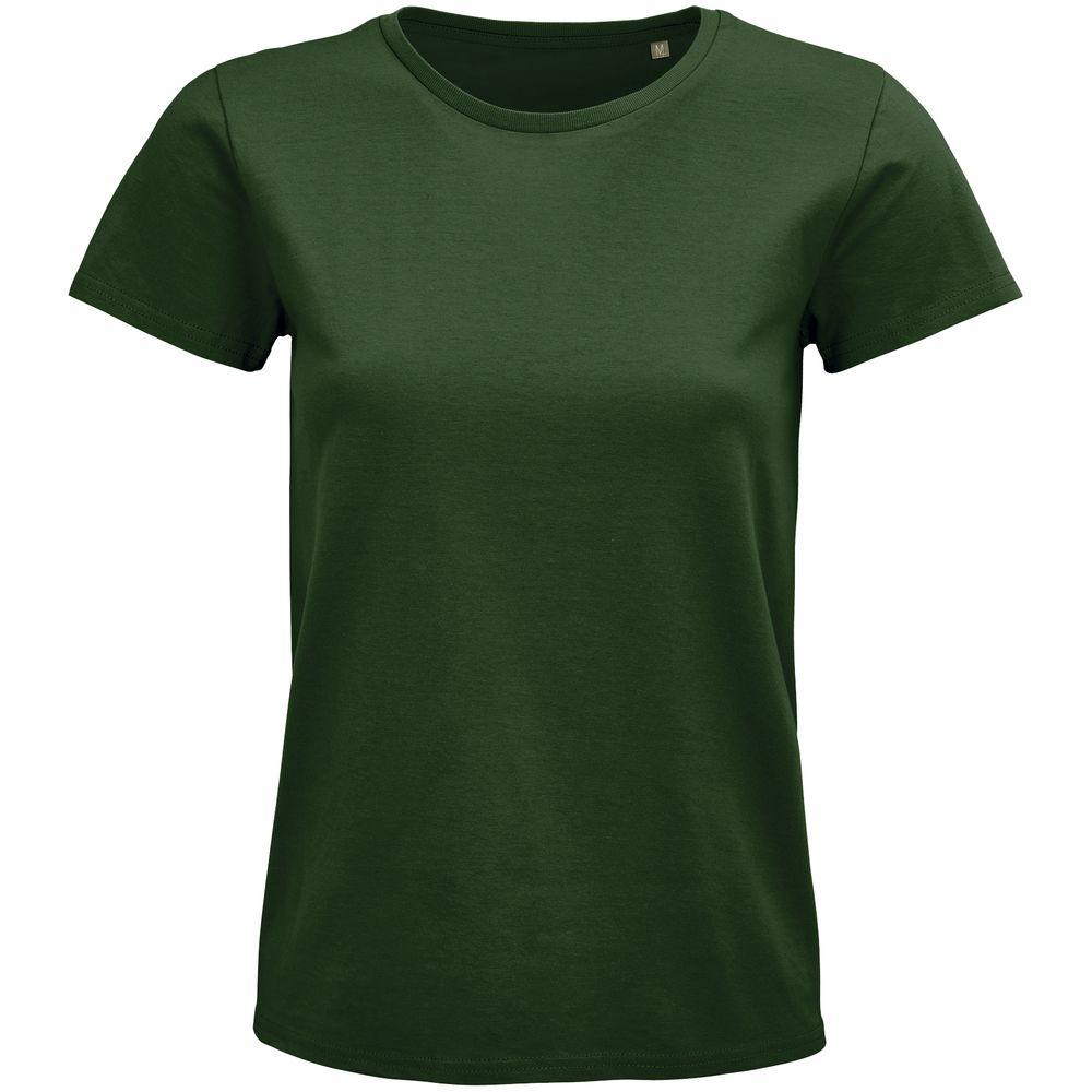 Фото - Футболка женская Pioneer Women, темно-зеленая, размер L футболка женская pioneer women хаки размер l