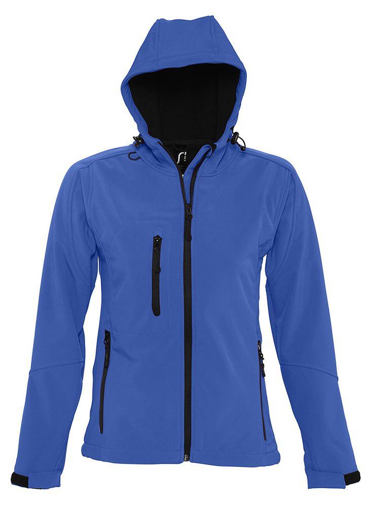 Фото - Куртка женская с капюшоном Replay Women, ярко-синяя, размер XXL куртка женская с капюшоном replay women 340 черная размер m