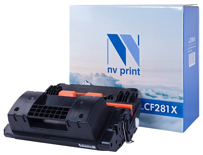 Фото - Картридж CF281X картридж лазерный mak 81x cf281x черный black 25000 стр