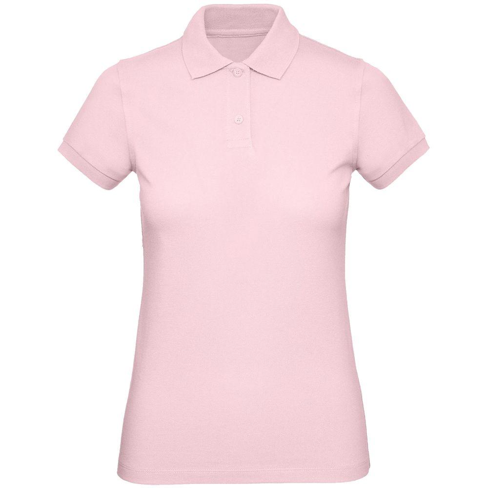 Рубашка поло женская Inspire розовая, размер S рубашка женская levi s® ultimate boyfriend цвет черный 5893700250 размер s 44