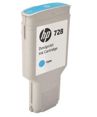 Фото - HP DesignJet 728 Cyan 300 мл (F9K17A) тонер картридж 728 3500b010 русифицированная упаковка
