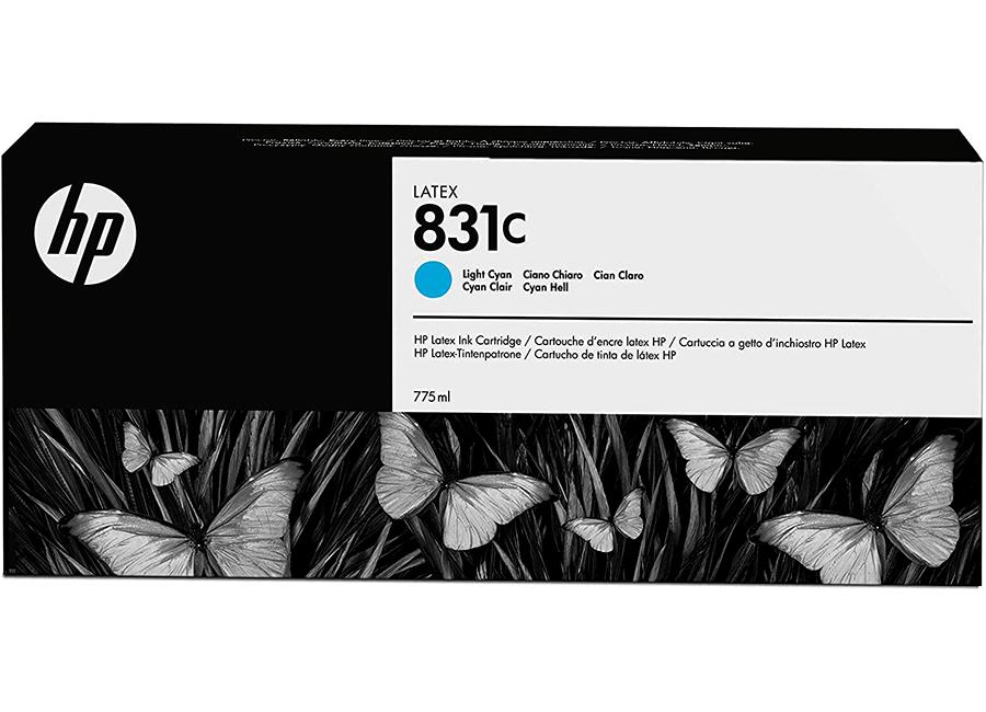 Фото - Картридж HP 831 Light Cyan 775 мл (CZ698A) lubby пустышка латексная утенок от 0 месяцев