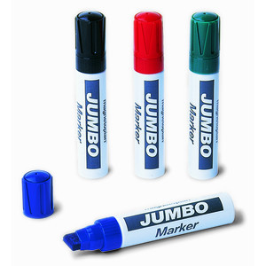 Фото - Набор из 4-х разноцветных маркеров Magnetoplan Jumbo для флипчартов, широкий грифель набор разрезных ключей 4 шт сумка дт 40 дело техники 513540