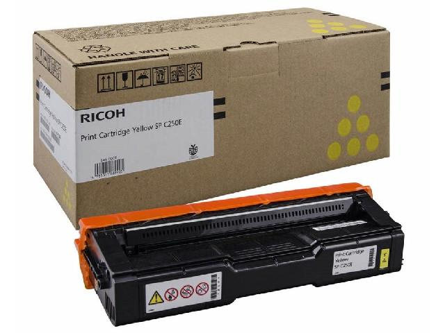 Фото - Принт-картридж Ricoh SPC252E желтый принт картридж ricoh spc252e черный