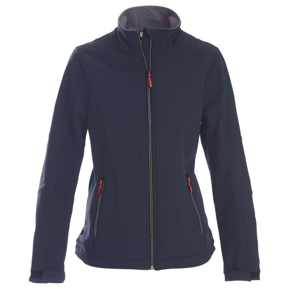 цена на Куртка софтшелл женская TRIAL LADY темно-синяя, размер M