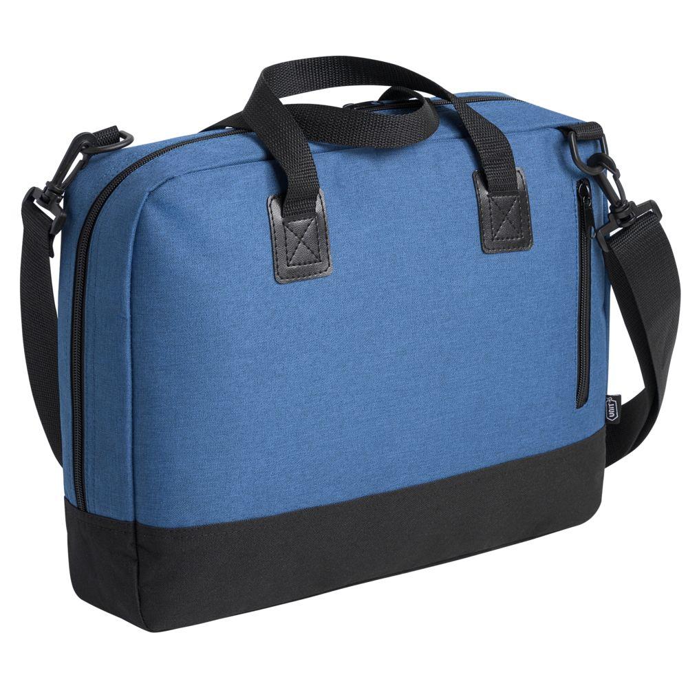 Сумка для ноутбука Unit Bimo Work, синяя сумка для ноутбука unit bimo work зеленая
