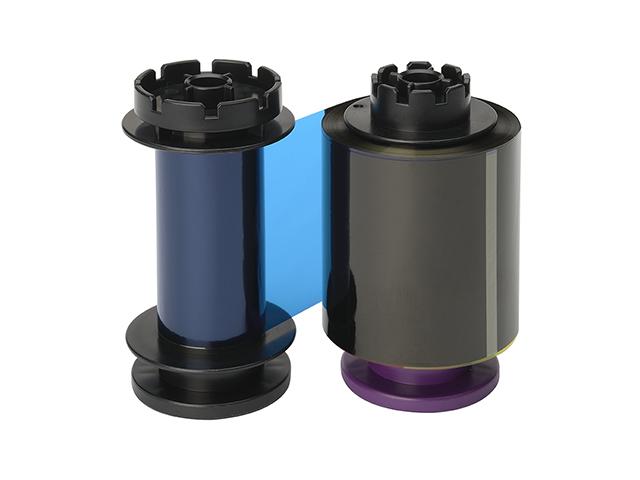 Фото - Полноцветная лента для двусторонней печати YMCK+K RT5F011EAA лента для полноцветной печати evolis ymcko r3011