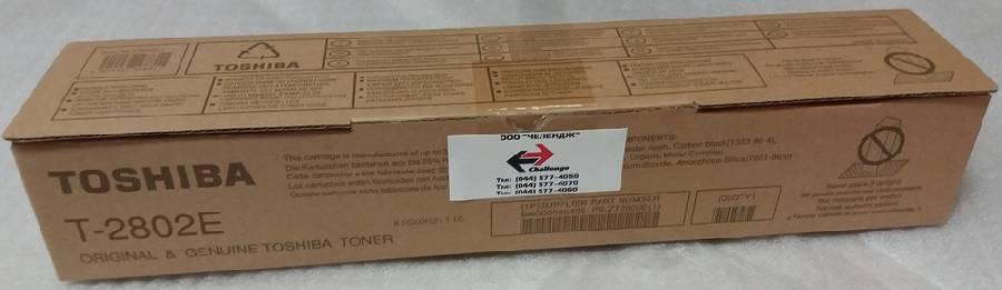 Фото - Тонер Toshiba T-2802E тонер toshiba t 281c ek