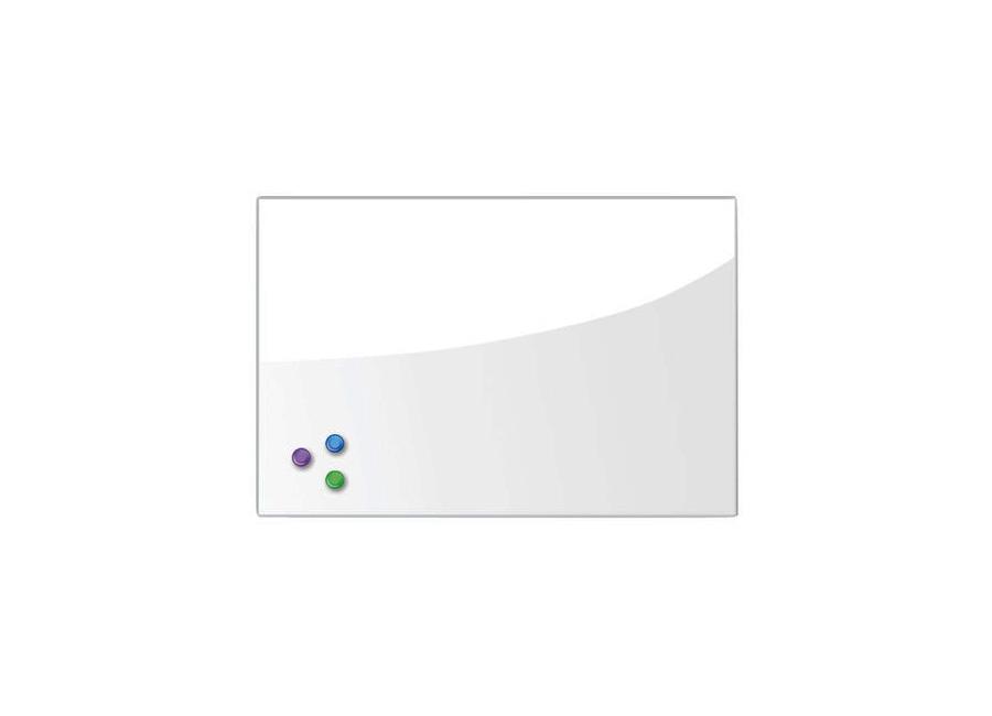 Фото - Brauberg 45x60 см, белая, 3 магнита (236744) кеды мужские vans ua sk8 mid цвет белый va3wm3vp3 размер 9 5 43