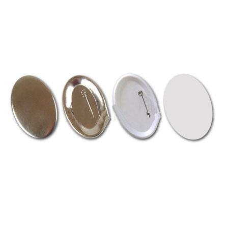 Заготовки для значков 69х45 мм, зеркало,100 шт заготовки для значков 69х45 мм булавка 100 шт