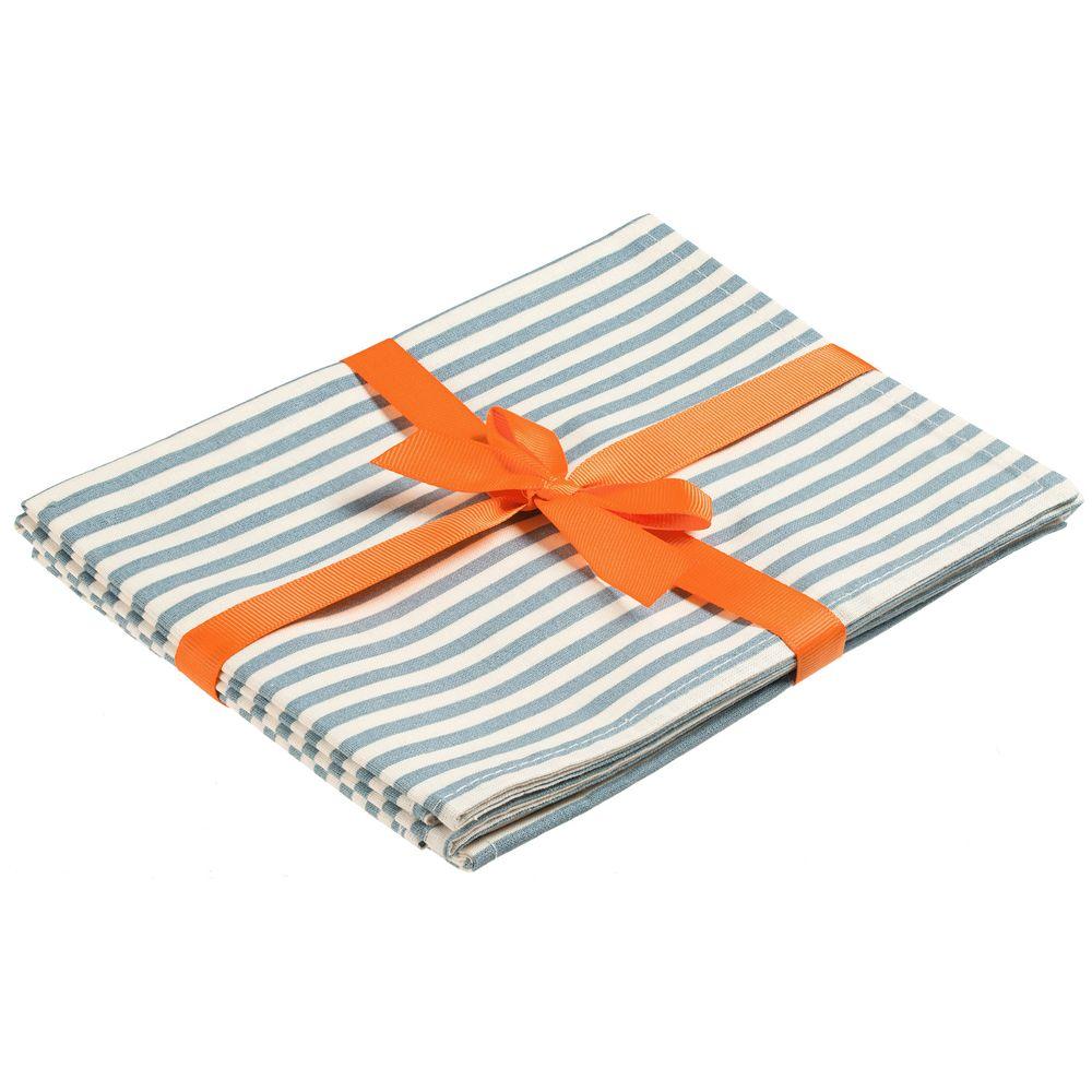 Набор салфеток «Морской пикник», бело-голубой вставка minene для ванны mi 1st bath buddy бело голубой медвежонок арт 30018