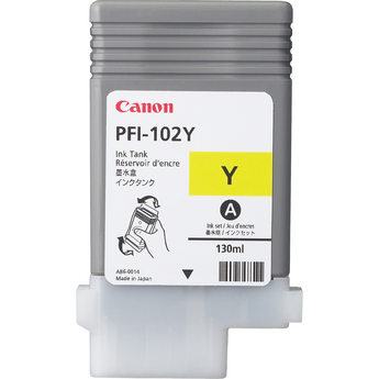 Фото - Canon PFI-102Y Yellow 130 мл (0898B001) pfi 701y yellow
