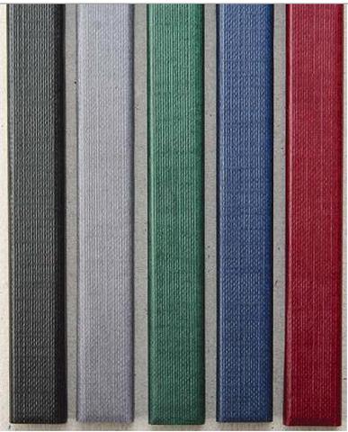 Цветные каналы с покрытием «ткань» O.CHANNEL SLIM А4 304 мм 28 , зеленый