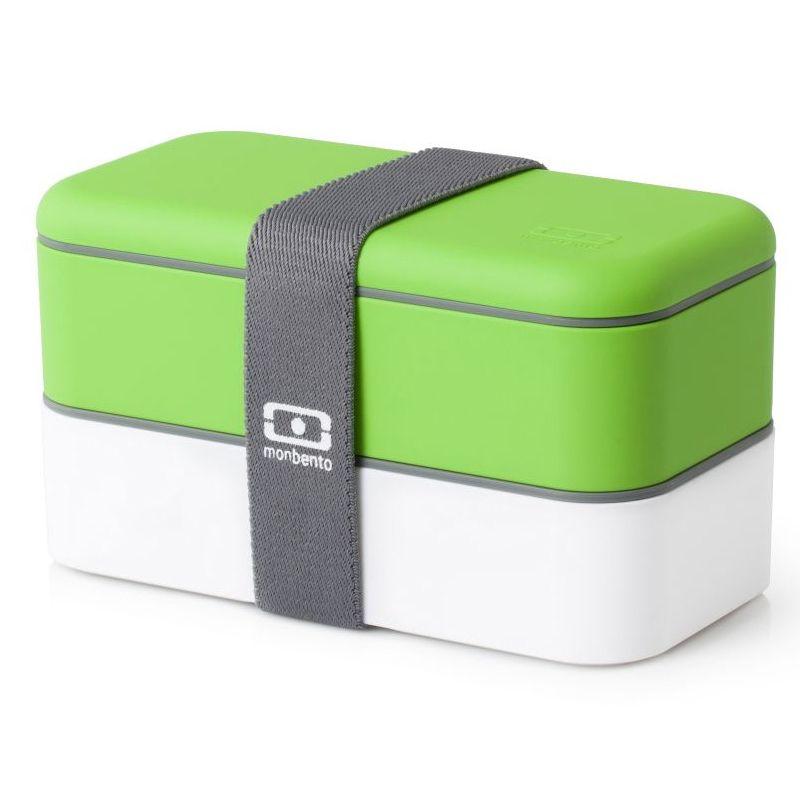 Ланч-бокс MB Original, зеленое яблоко с белым bear dfh s2016 электрический ланч бокс с подогревом