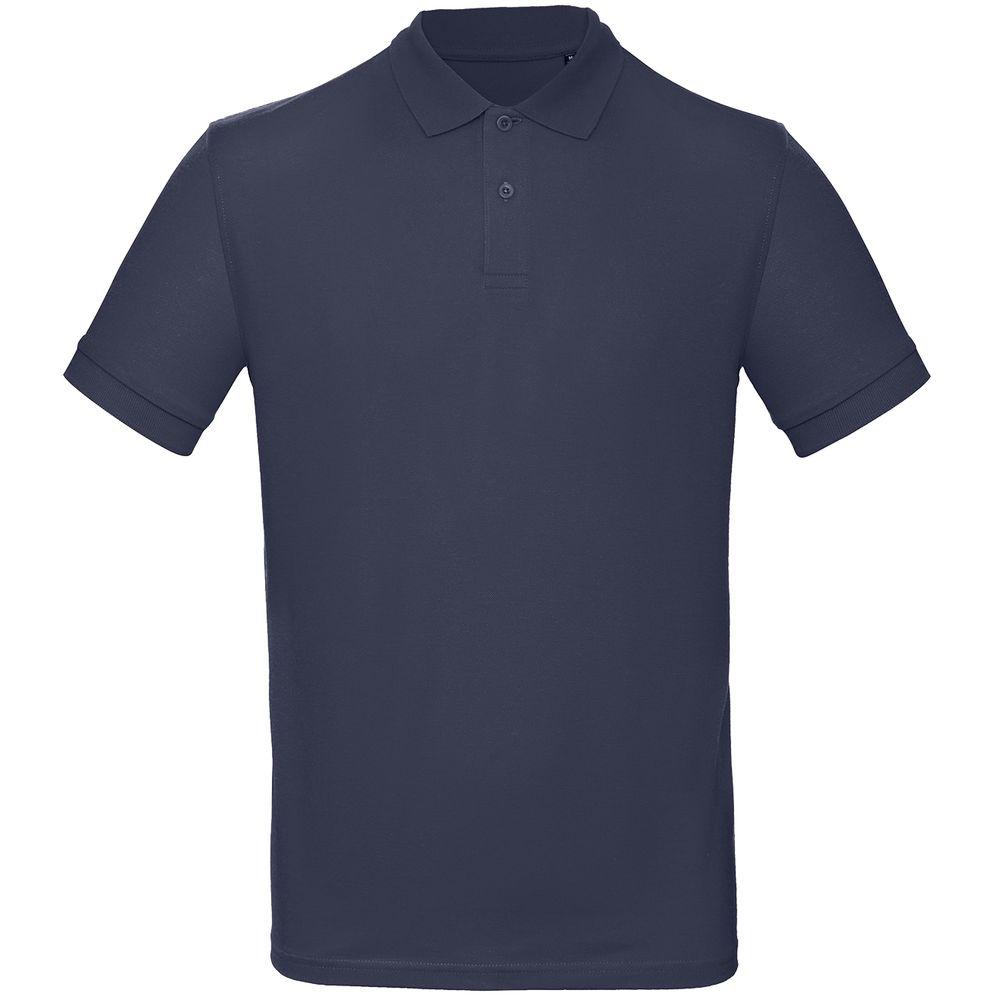 Рубашка поло мужская Inspire темно-синяя, размер XL рубашка поло мужская inspire темно синяя размер s