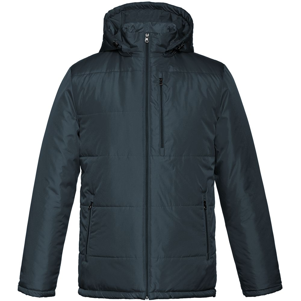 Фото - Куртка Unit Tulun, темно-синяя, размер M куртка unit tulun серая размер xxl