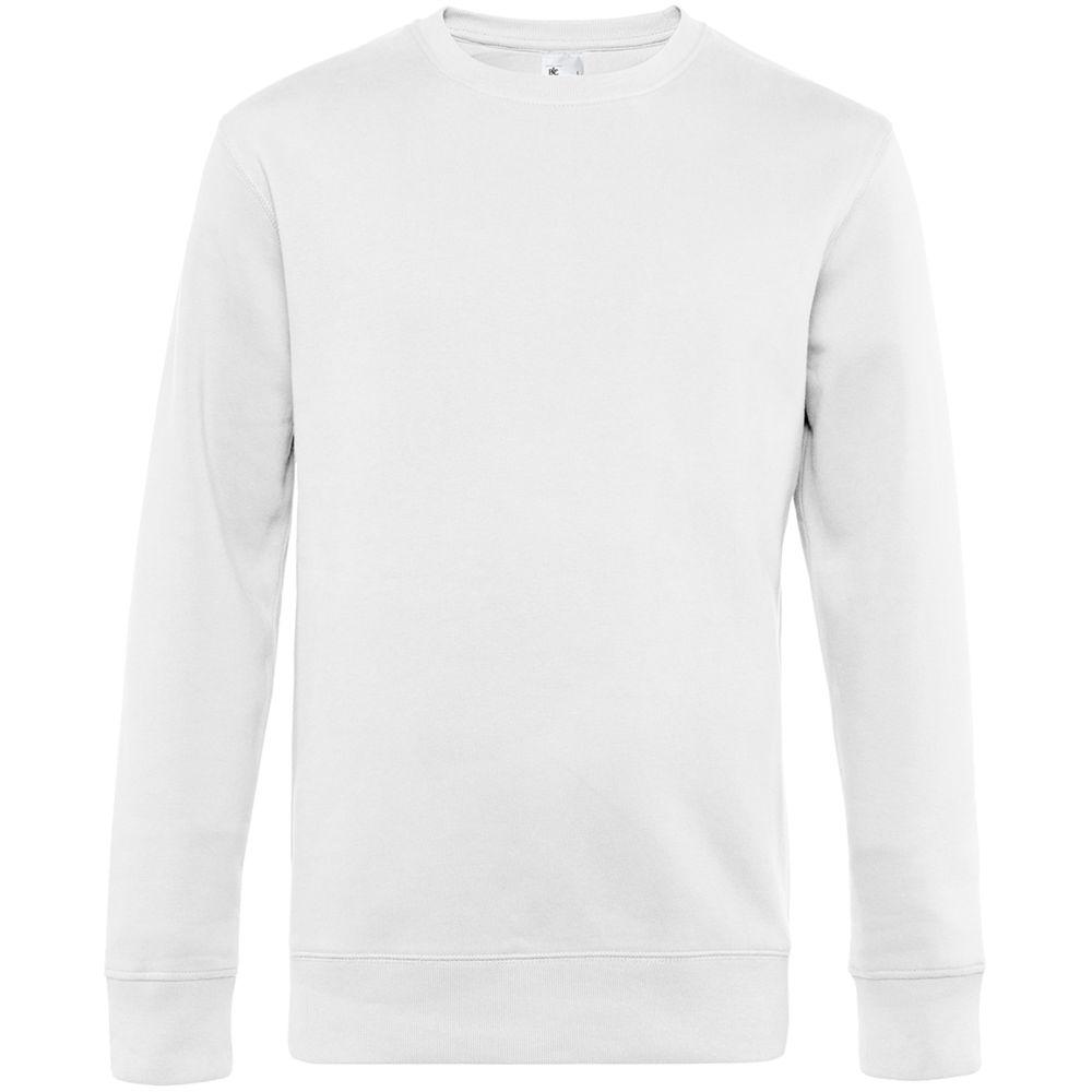 Фото - Свитшот унисекс King, белый, размер 4XL халат vistyle размер 4xl черный белый