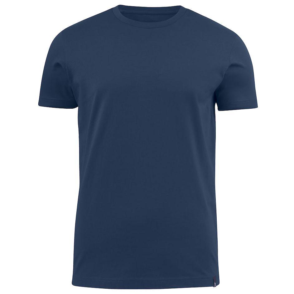 Футболка мужская AMERICAN U синяя, размер XXL