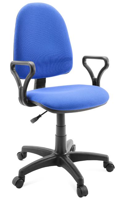 Кресло оператора Гелеос Классик, синее