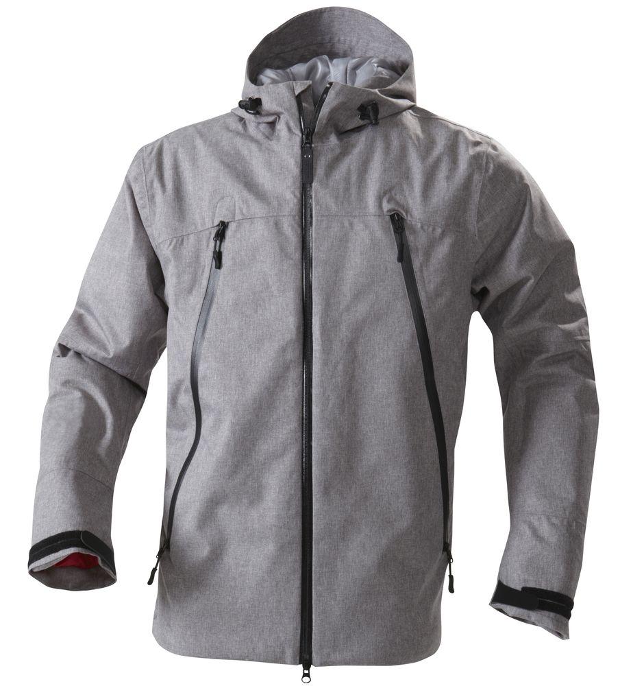 Куртка мужская JACKSON, серый меланж, размер M юбка sela цвет серый меланж skk 118 887 7413 размер m 46