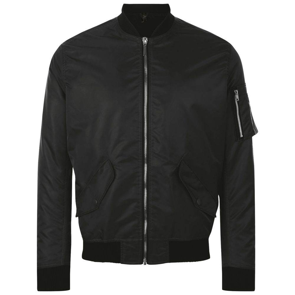 Куртка бомбер унисекс REBEL черная, размер 3XL куртка бомбер унисекс rebel черная размер xl