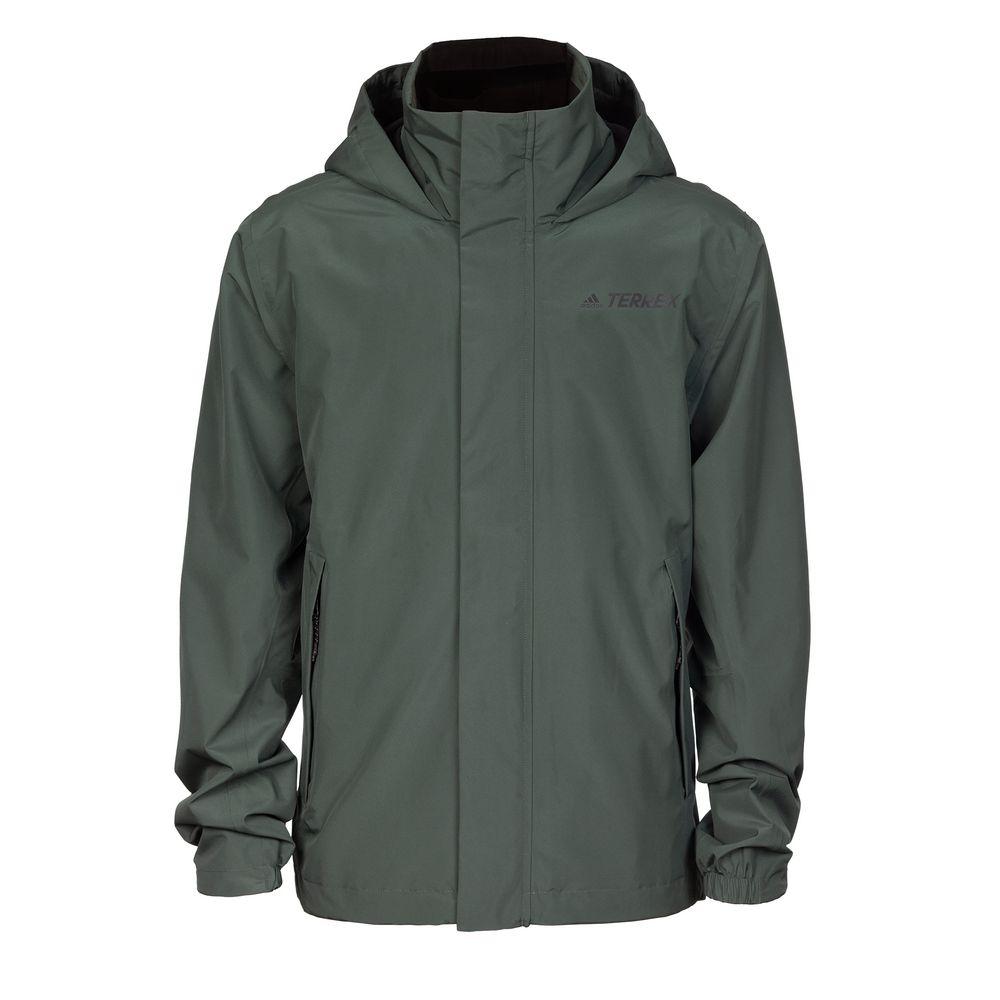 Куртка AX, серо-зеленая, размер S
