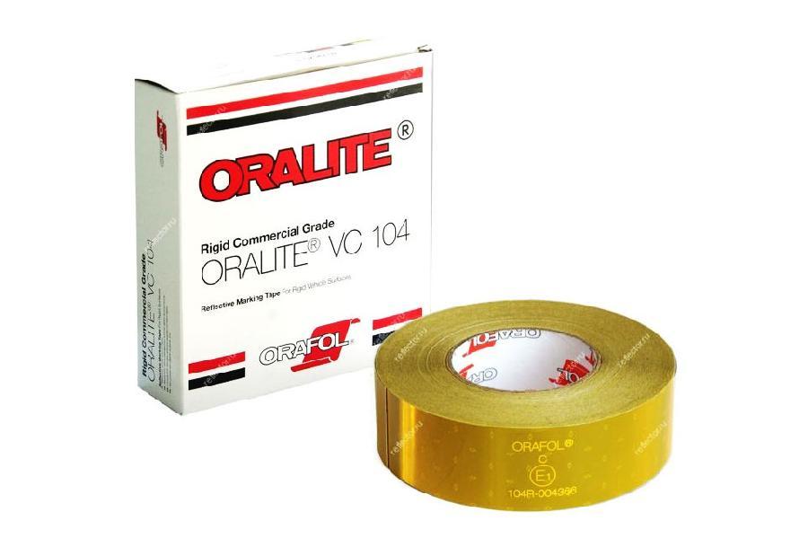 Фото - Oralite/Reflexite VC104 Rigid Grade Commercial для жесткого борта, желтая 0.05x50 м oralite reflexite vc104 curtain grade segmented для мягкого тента сегментированная белая 0 05x50 м