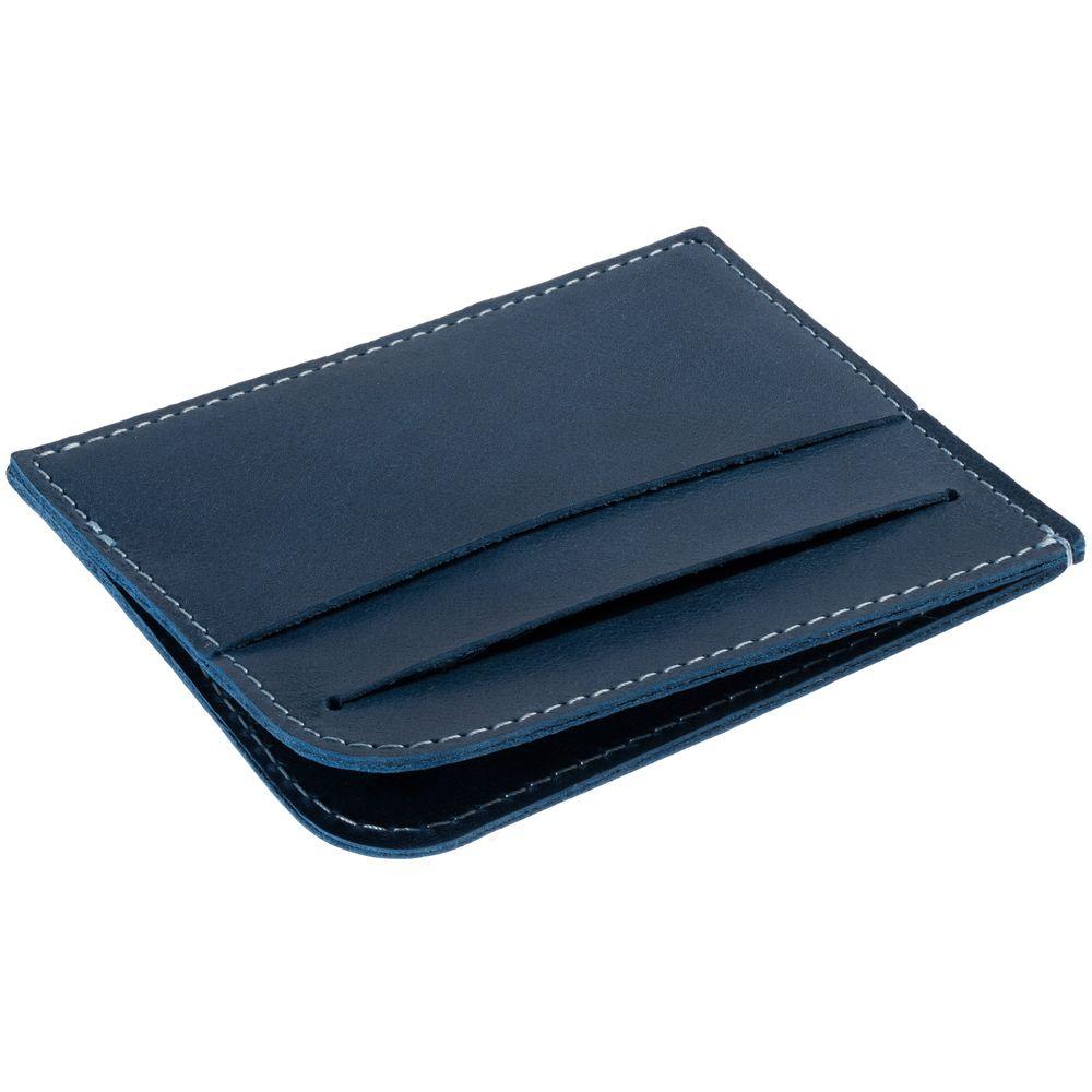 Чехол для карточек Apache, синий чехол для карточек resist синий