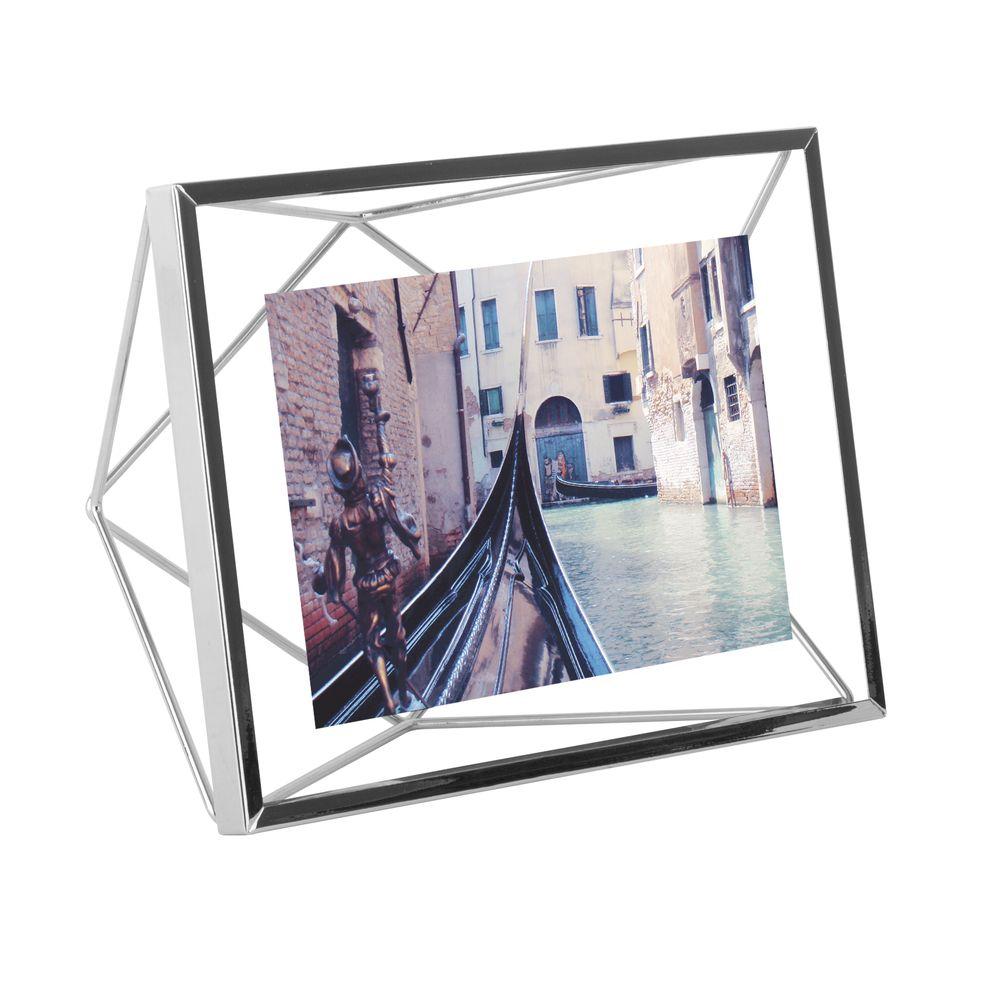 Фоторамка Prisma, малая, хром фото