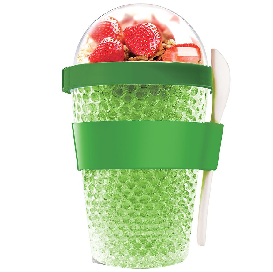 Фото - Охлаждающий контейнер Chill Yo 2 Go, зеленый go 2