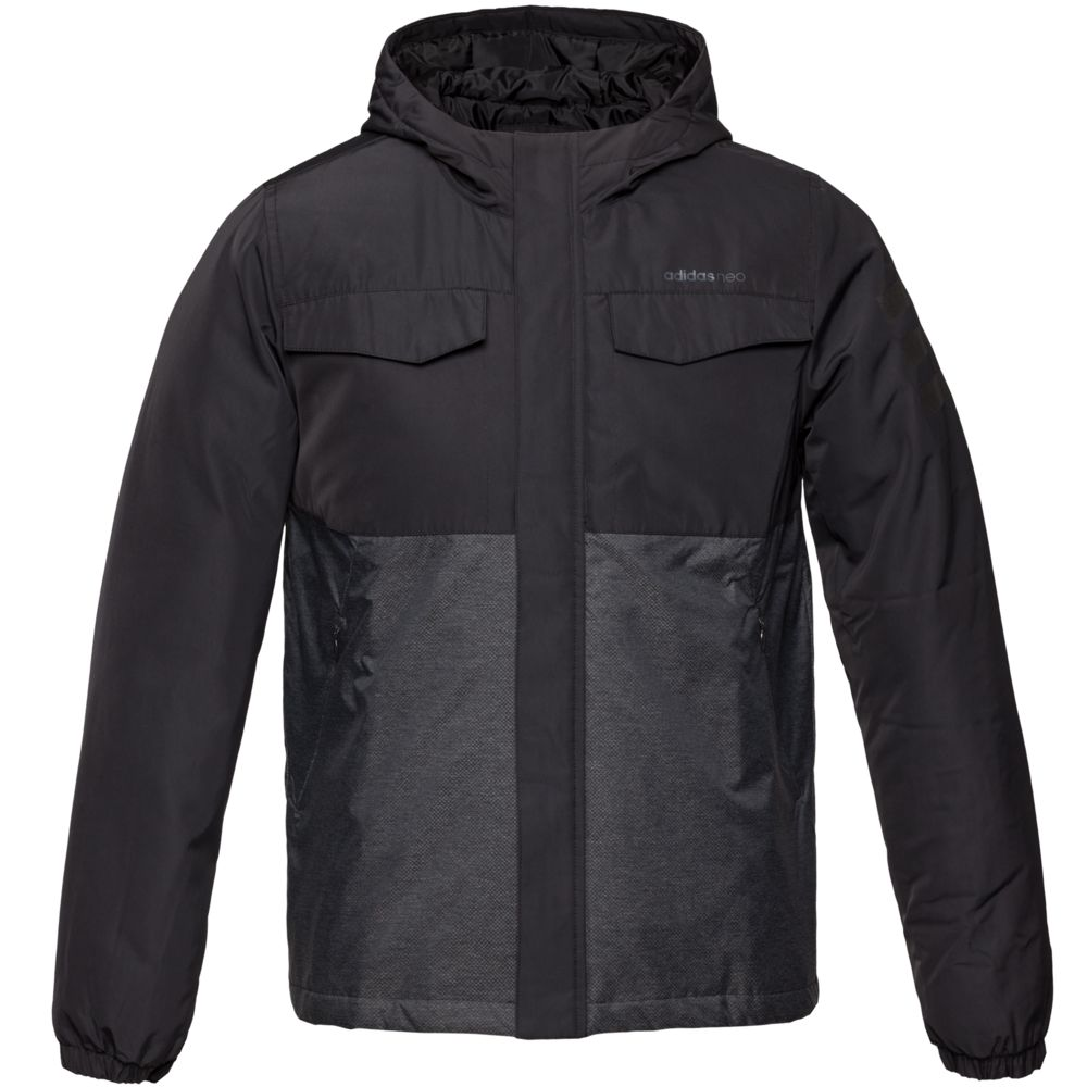 Куртка мужская Padded, черная, размер S