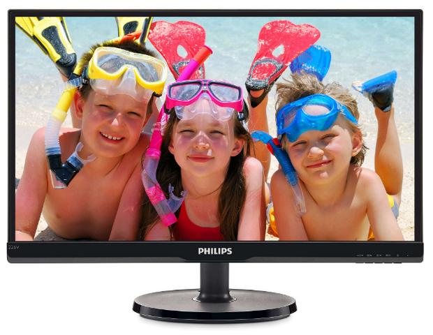 24 246V5LSB/00(01) Black монитор philips 246v5lsb