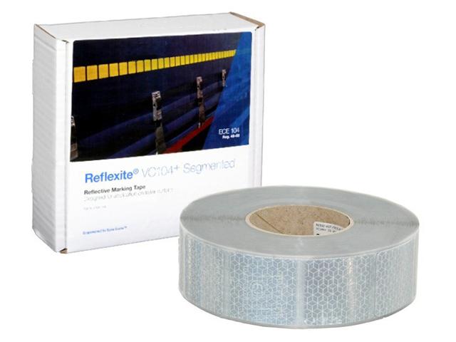 Фото - Oralite/Reflexite VC104+ Curtain Grade Segmented для мягкого тента, сегментированная, белая 0.05x50 м oralite reflexite vc104 tanker stickers для жесткого борта для цистерн белая 0 05x10 м