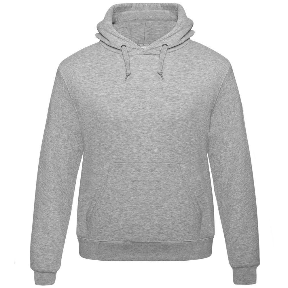 Толстовка Hooded серый меланж, размер S