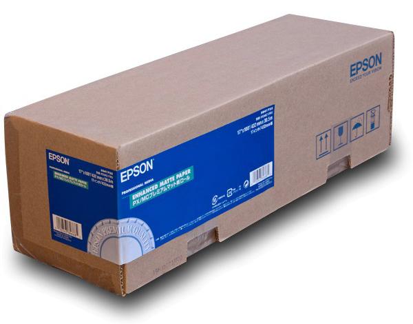 Фото - Epson Enhanced Matte Paper 17, 432мм х 30.5м (192 г/м2) (C13S041725) очиститель полного цикла для посудомоечных машин somat 3 шт х 20 г