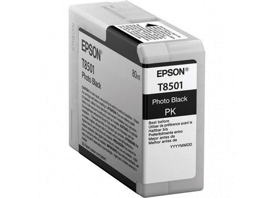 Картридж Epson T8501 Photo Black 80 мл (C13T850100) фото