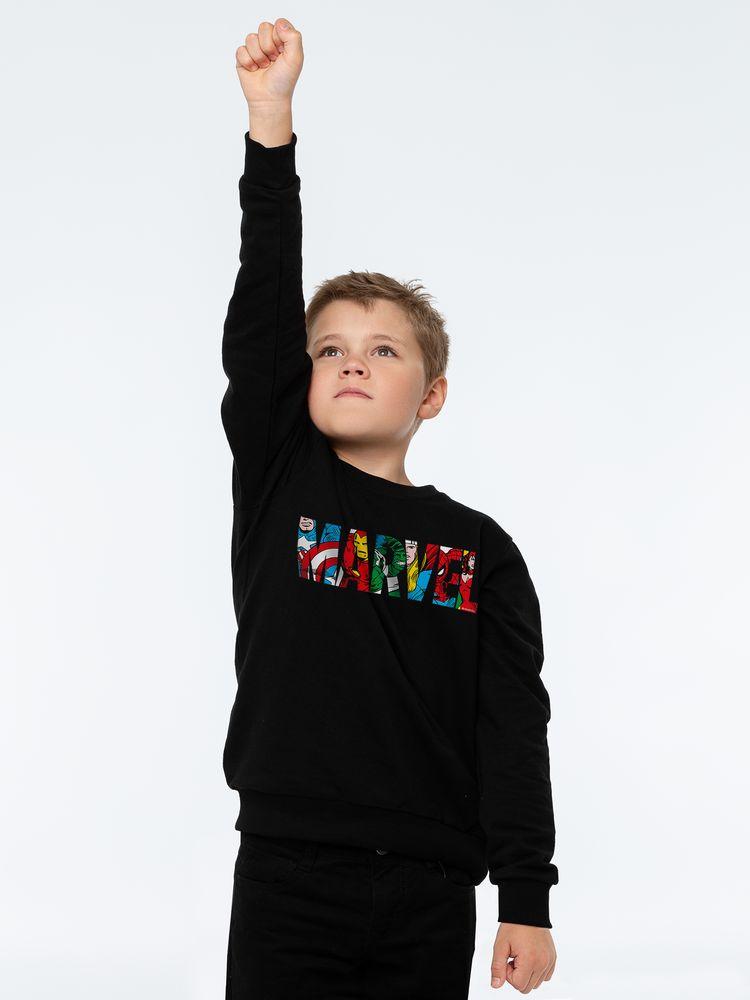 Свитшот детский Marvel Avengers, черный, 10 лет (130-140 см) недорого