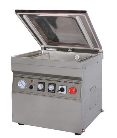 Настольная вакуум-упаковочная машина DZ-400/2T (нерж.) инвертор 12в 220в номинальная мощность 500 вт airline api 400 03